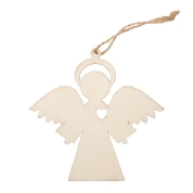 drewniana zawieszka aniołek 91RD019-1