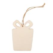 zawieszka drewniana prezent 91RD013-1